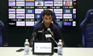 Roberto Occhiuzzi dopo Benevento - Cosenza