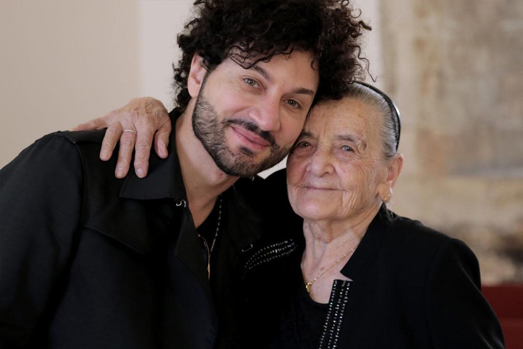 Con il nipote Gianni Testa