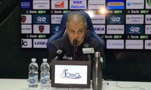 Piero Braglia dopo Cosenza - Spezia