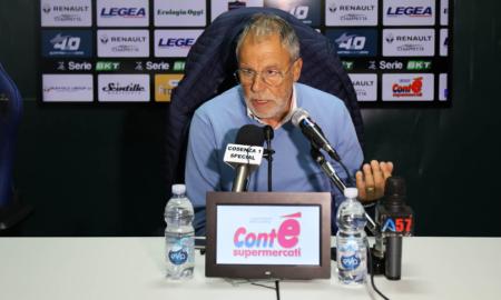 Piero Braglia dopo Perugia - Cosenza