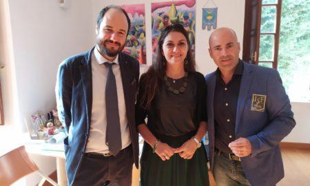 Tommaso Caporale, l'Assessore Rosaria Succurro e Alberto Giannattasio