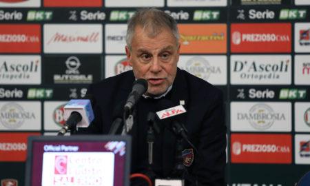 Piero Braglia dopo Salernitana - Cosenza