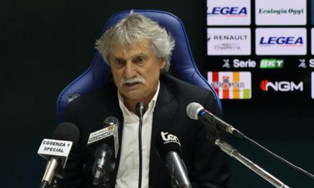 Bepi Pillon è il nuovo allenatore del Cosenza