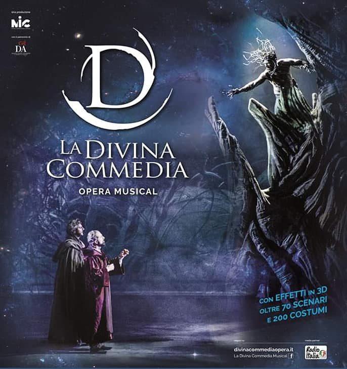 manifesto finale La Divina Commedia