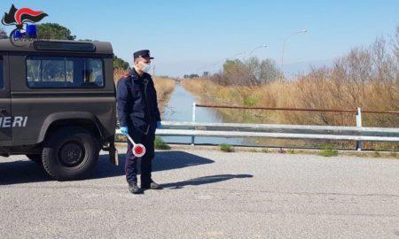 controlli cassano Carabinieri Forestale