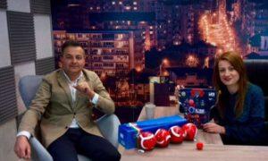 Con Gianluca Cristiano