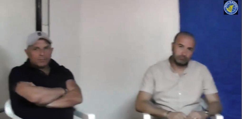 R_Sant'Agata, mister Vaccaro e Cataldi durante la conferenza