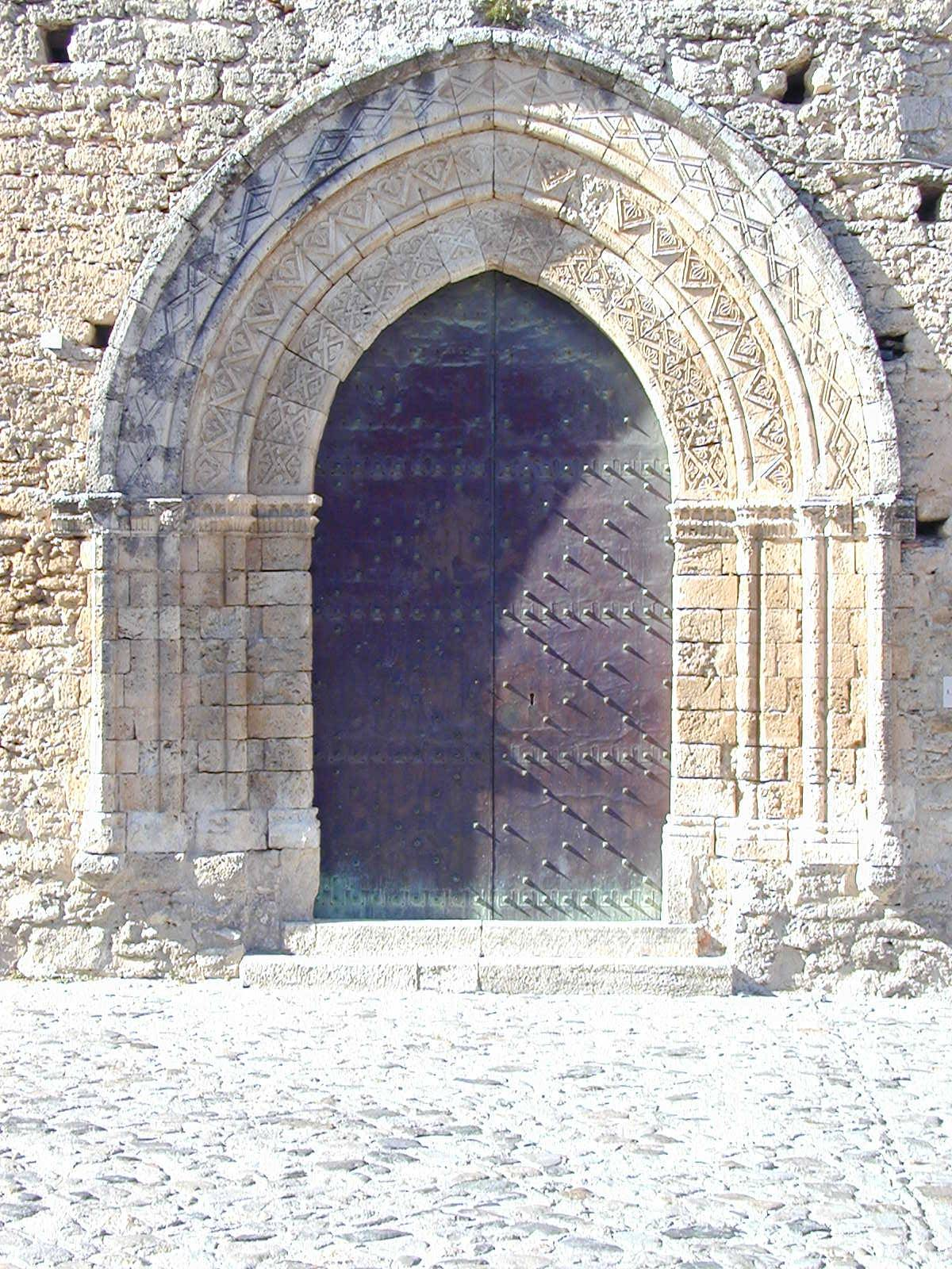 Portale Chiesa S. Francesco Gerace