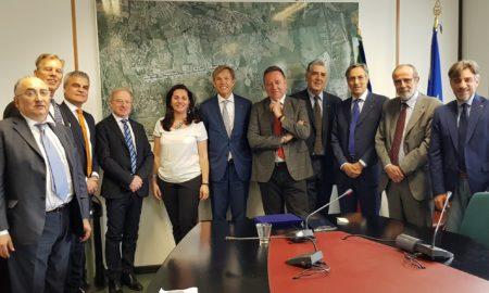 delegazione Ambasciata paesi Bassi con vertici Unindustria e Unical