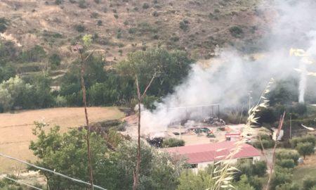 incendio isola ecologica