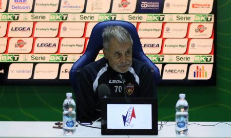 Piero Braglia (foto sito ufficiale del Cosenza)