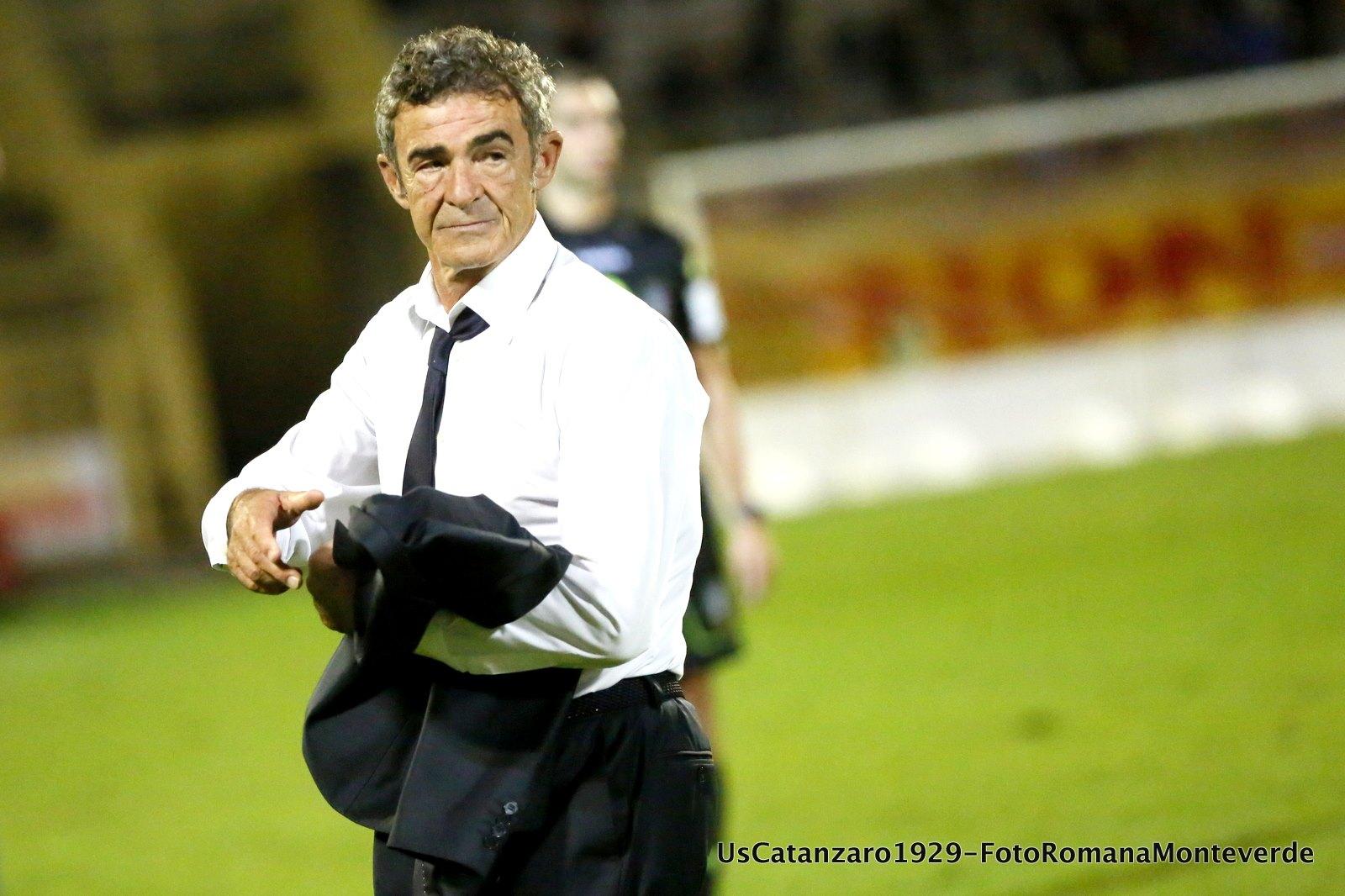 Gaetano Auteri (foto profilo Facebook ufficiale del Catanzaro)