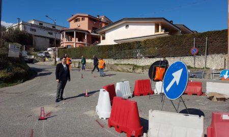 sindaco mendicino lavori bitumazione