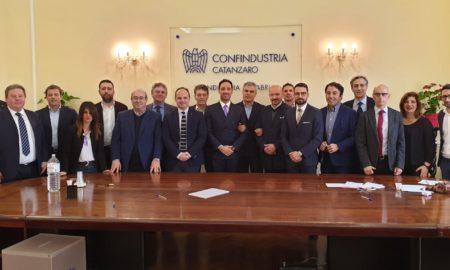 vertici Sezione Sanità di Unindustria Calabria