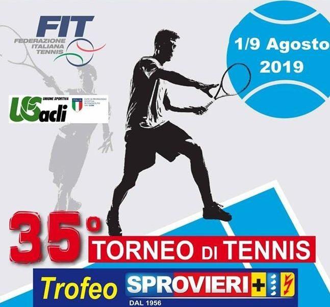 35° Torneo Tennis Sprovieri-Sporting C.