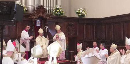 Si é insediato il nuovo Vescovo di Lamezia Terme, mons. Giuseppe Schillaci