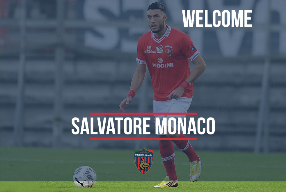 Salvatore Monaco in prestito al Cosenza