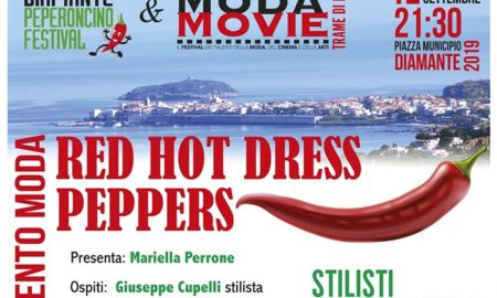 locandina Red hot dress Pepper