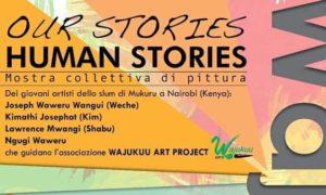 Locandina mostra Our Stories, Human Stories