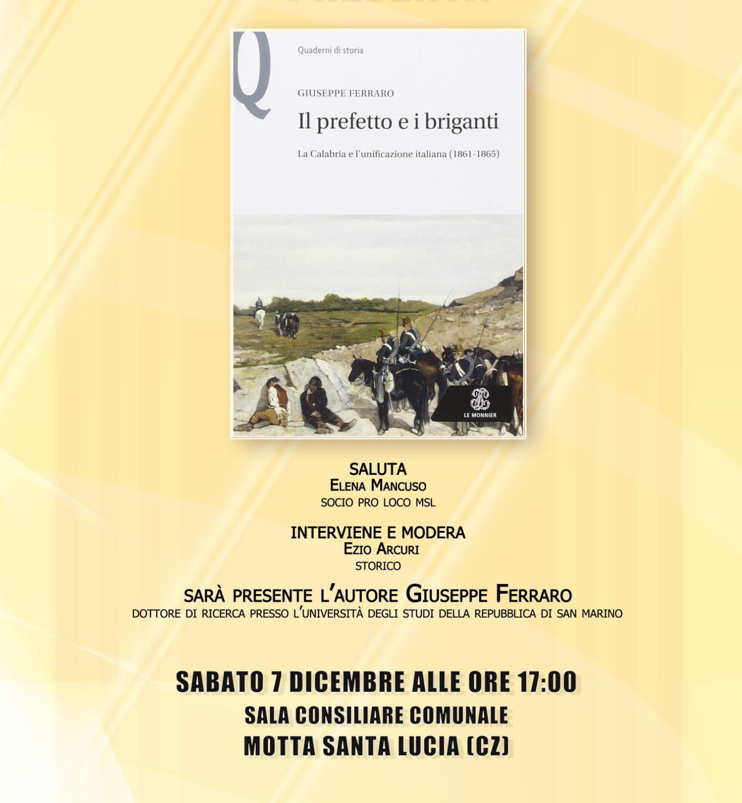 Giuseppe Ferraro libro