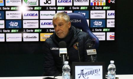 Piero Braglia dopo Cosenza - Benevento