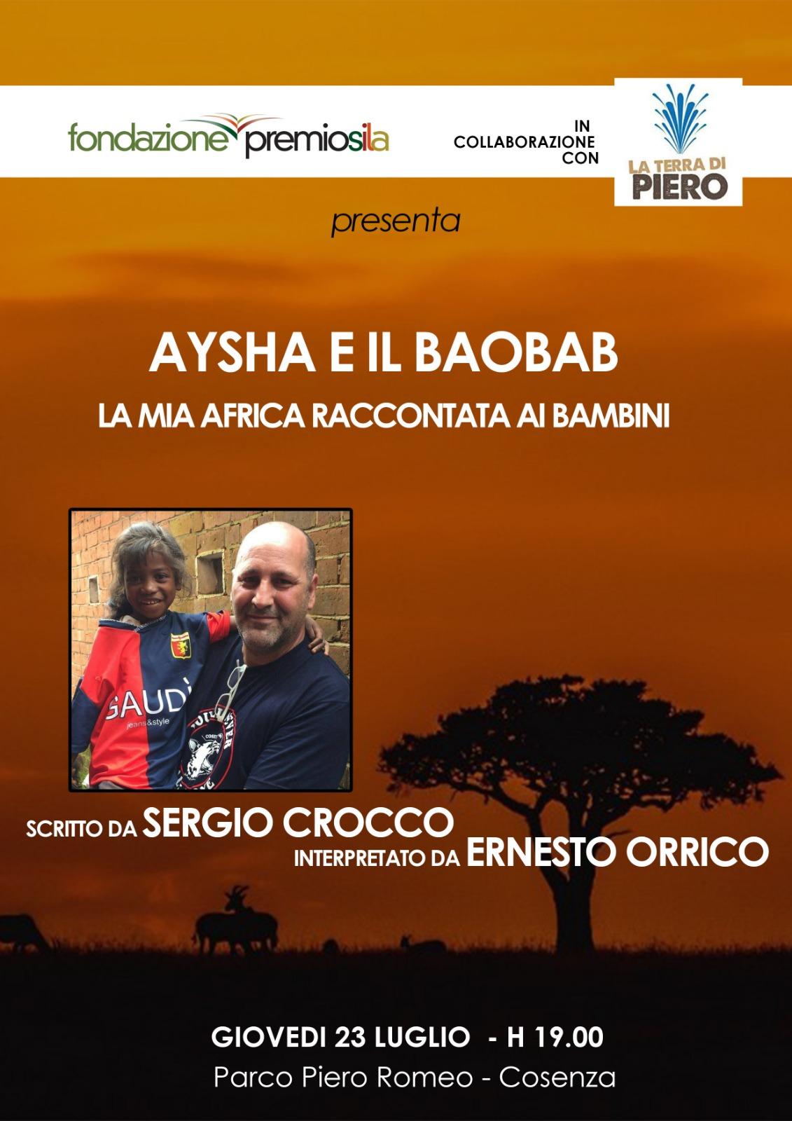 locandina – Aisha e il baobab