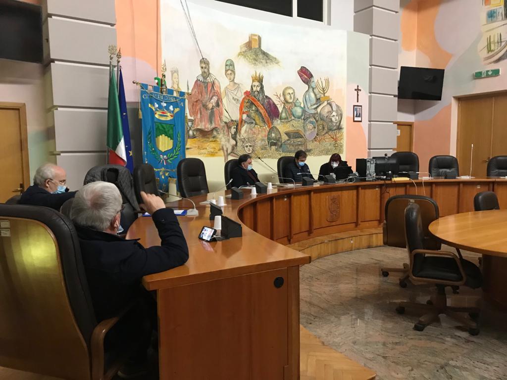 commissione sanità con Sindaco Occhiuto e Presidente Ordine dei medici Corcioni