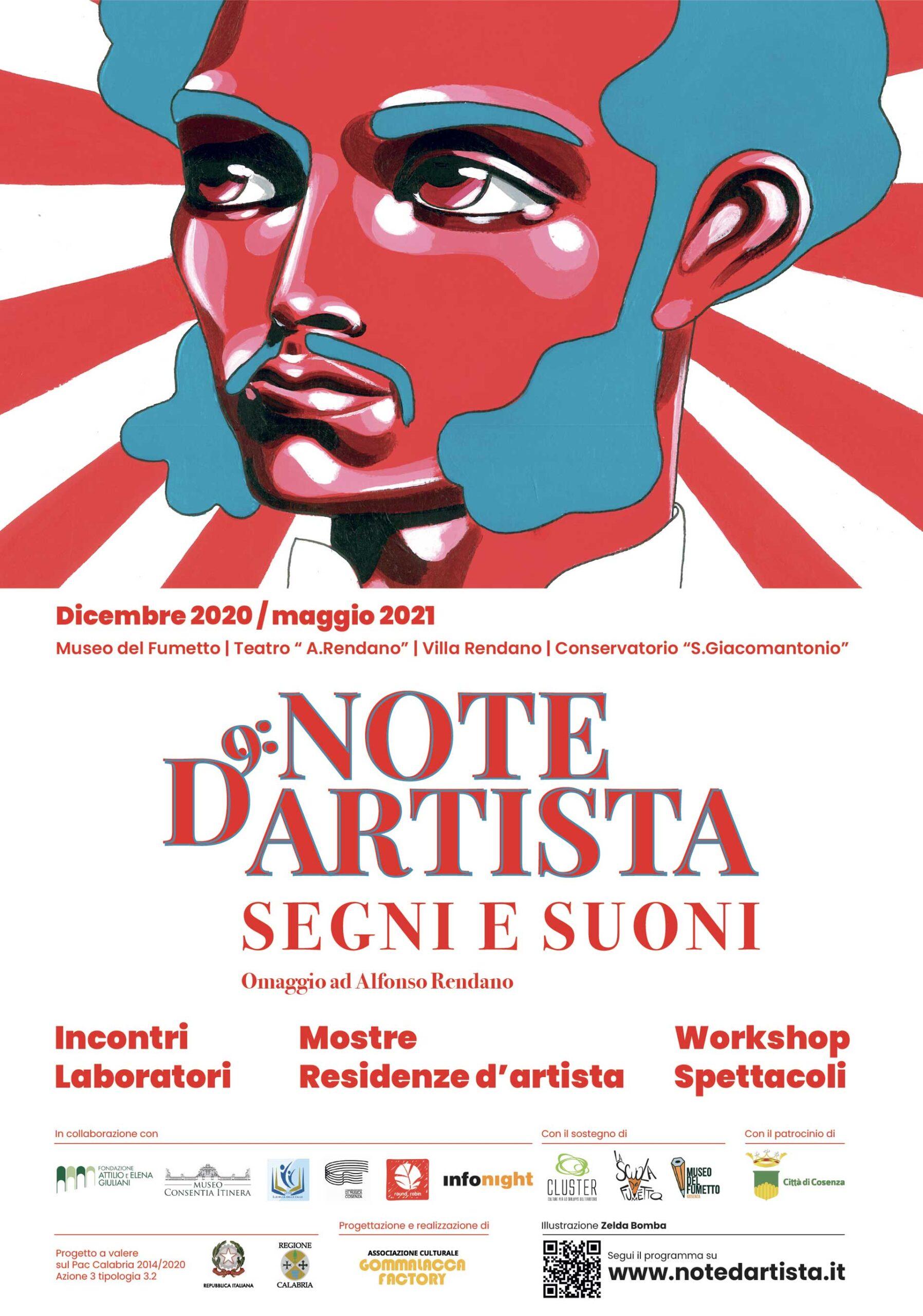 manifesto Note D'Artista