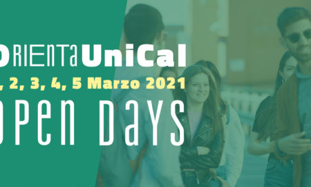 Unical - open days 2021