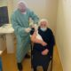 Vaccinazione centenaria Morano