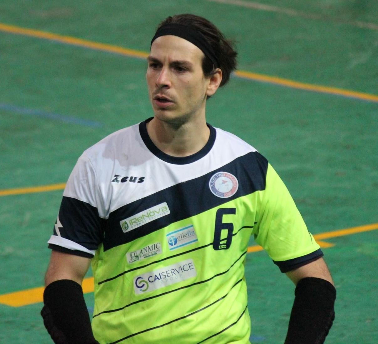 Il capitano Daniele Gentile - Pallamano Crotone