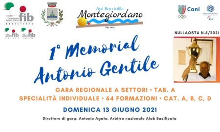 Memorial Antonio Gentile