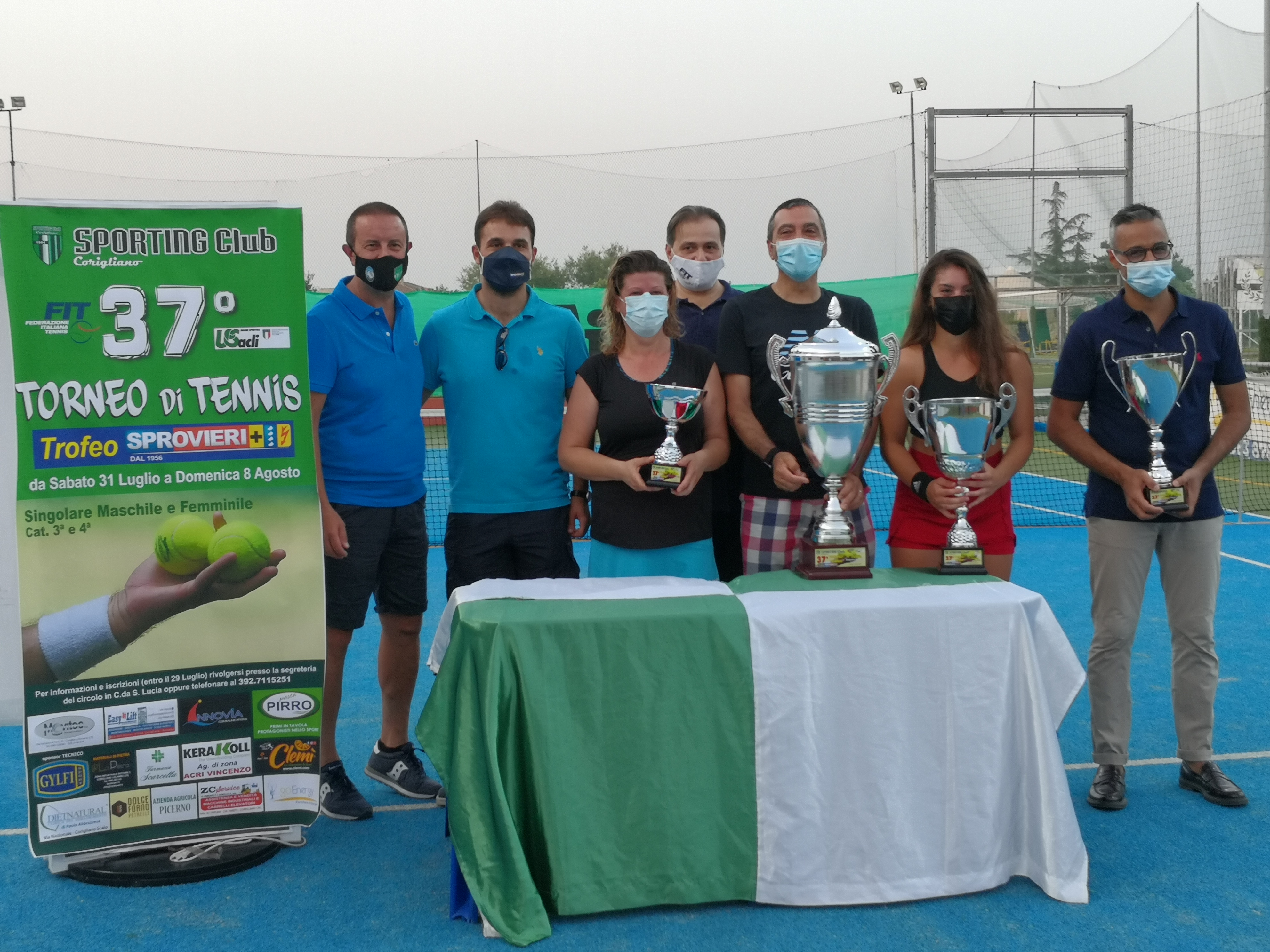 37° Torneo Tennis Sprovieri Successi per Lascala e Graziano (1)