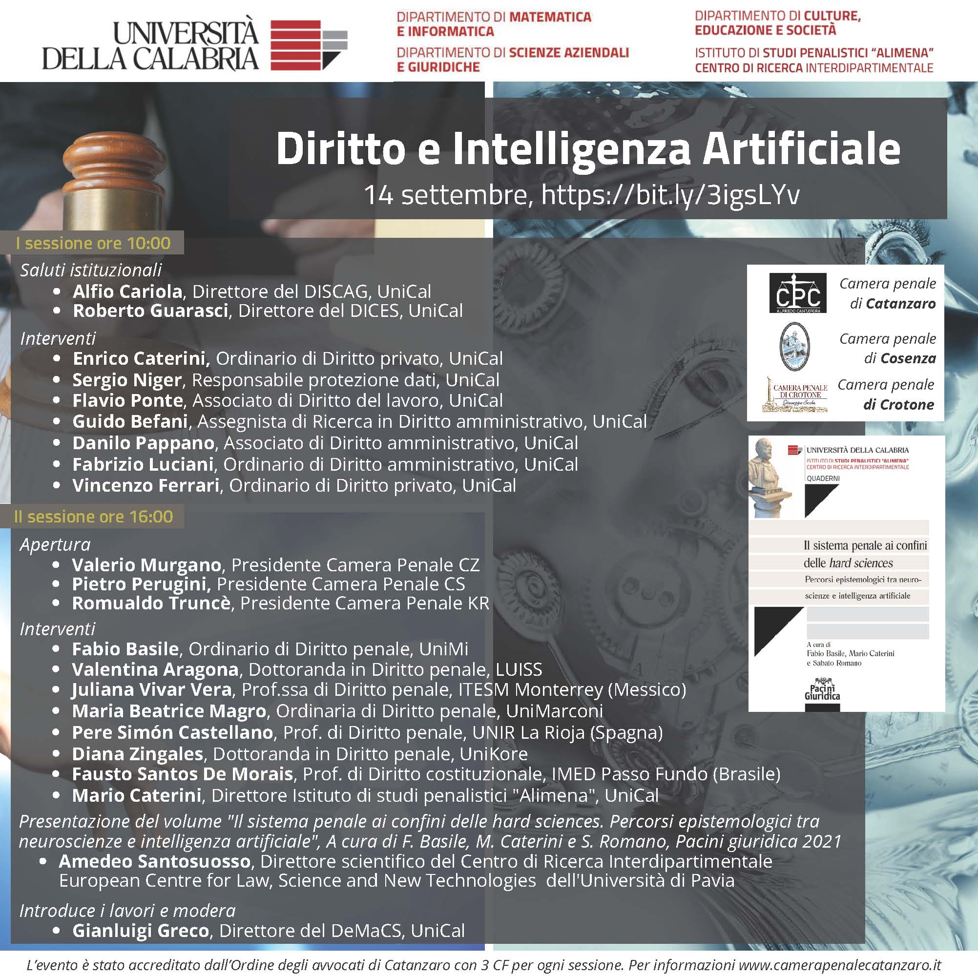 Locandina Diritto e AI – def